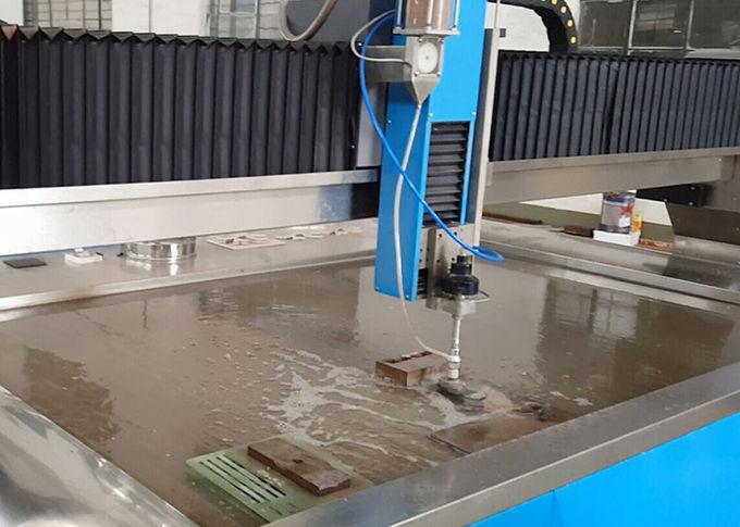 دستگاه برش جت آب برقی 38KW برش CNC Water Steel Cutter 3.7L Min Flowrate